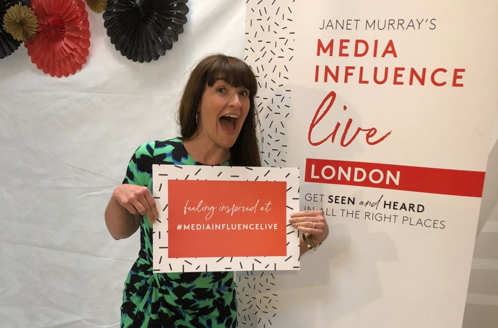 Janine Coombes at Media Influence Live 2018