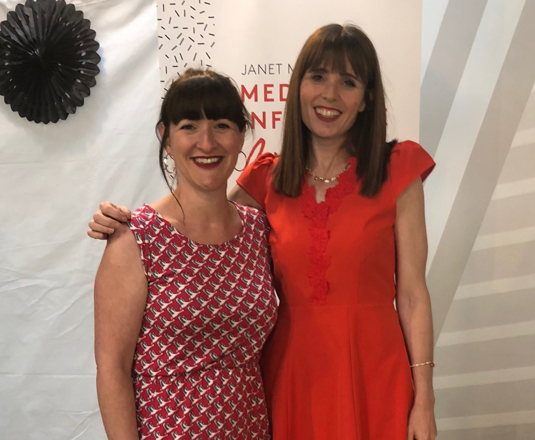 Janine Coombes and Janet Murray at Media Influence Live 2018