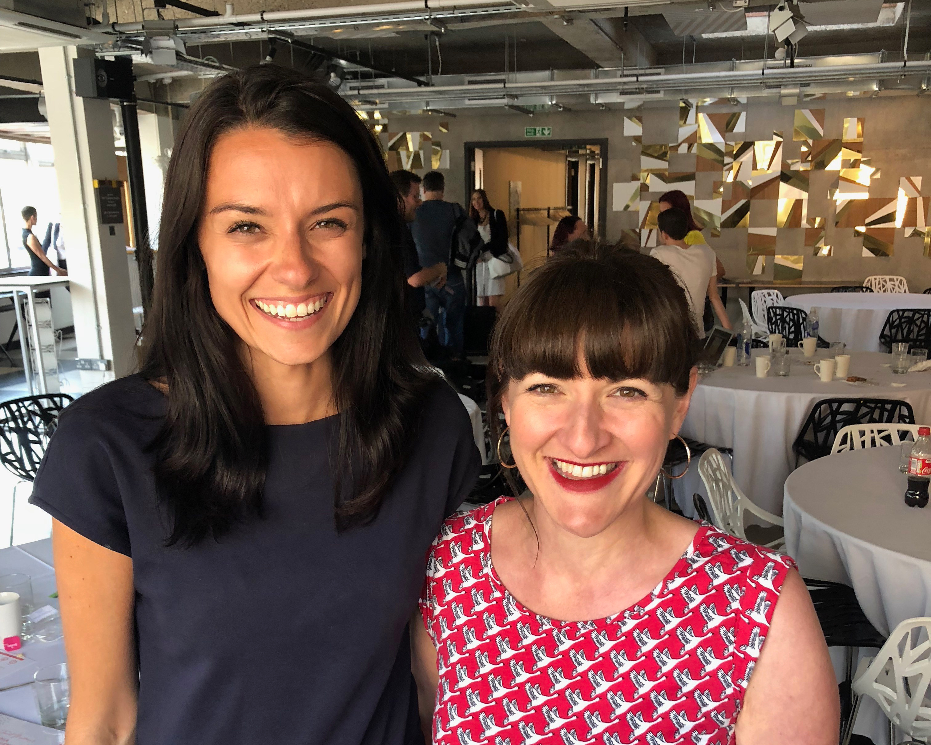 Jessica Dante and Janine Coombes at Media Influence Live 2018