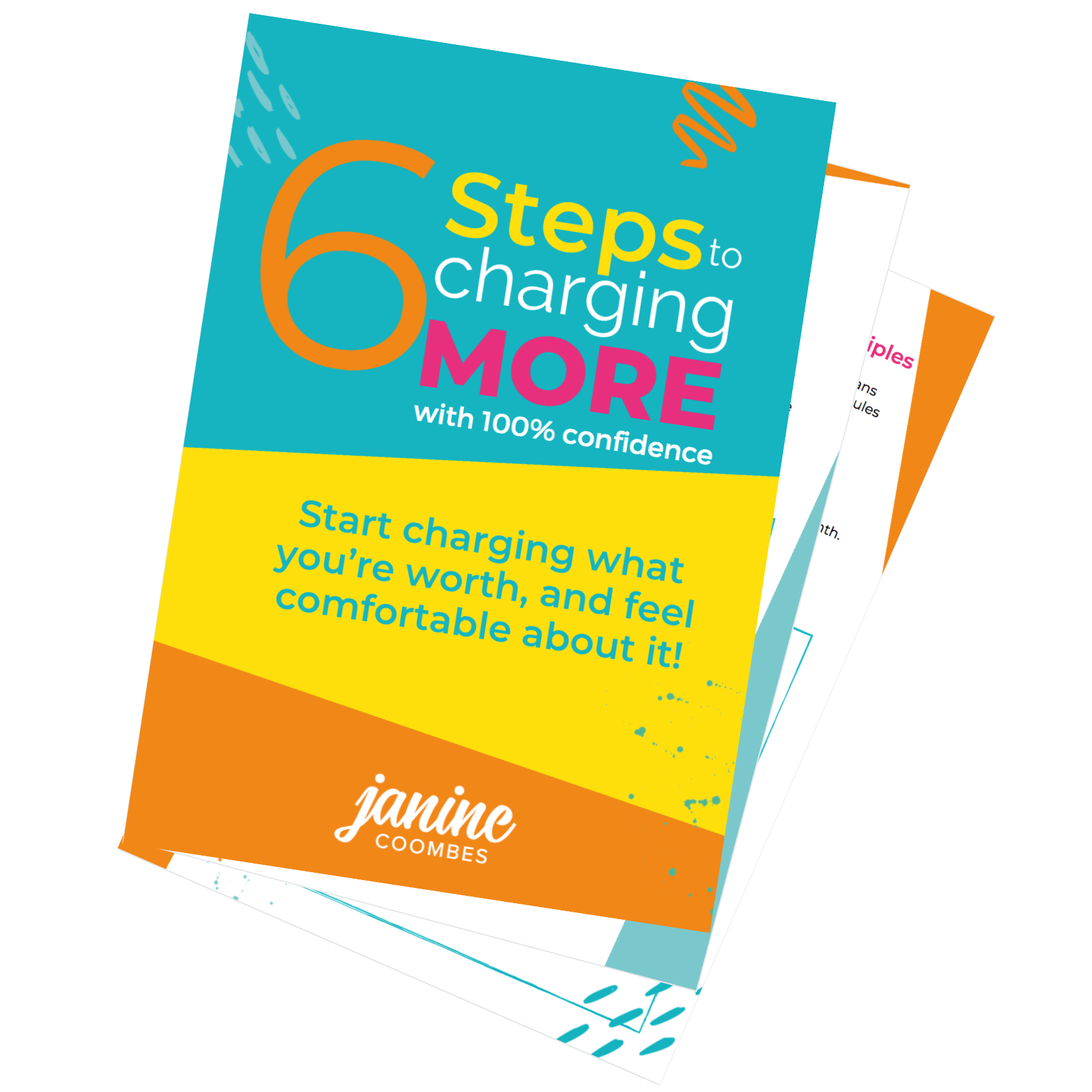 6-steps-to-charging-more-with-100-percent-confidence-workbook-by-Janine-Coombes