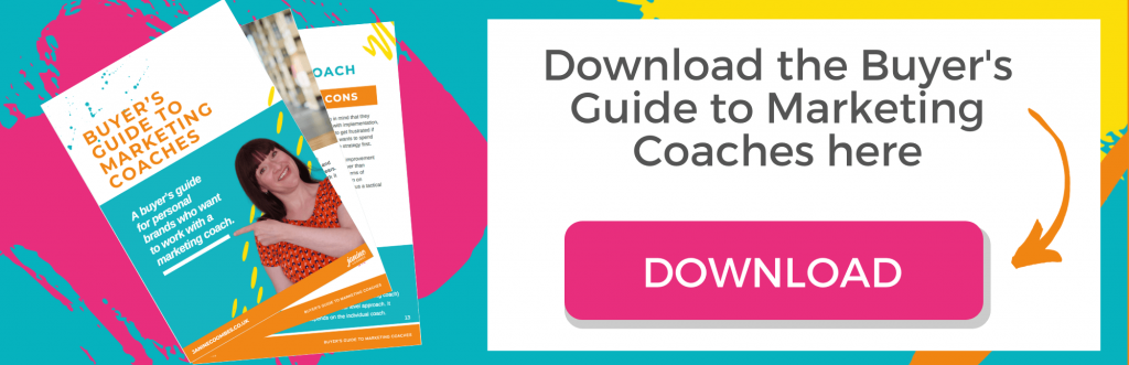 Marketing Coach Buyer's Guide download button