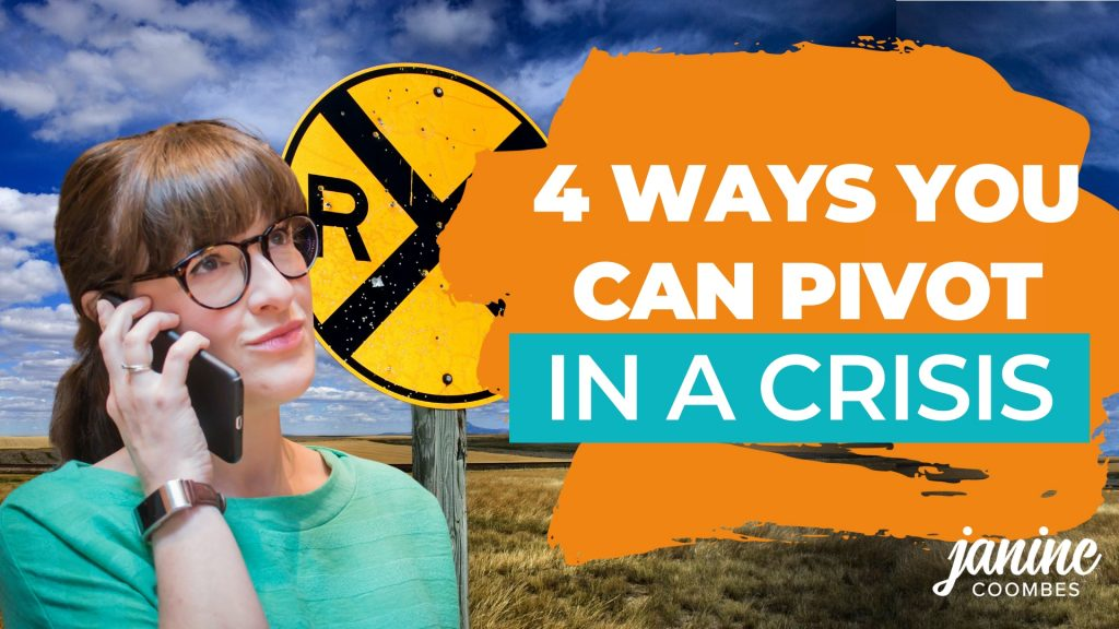 4 ways small businesses can pivot in a crisis