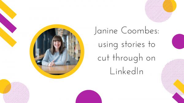 Janine Coombes Talks to Rachel Extance