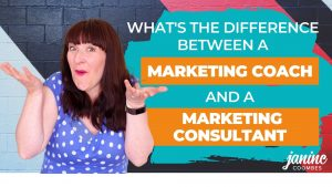 What's the difference between a marketing coach and a marketing consultant?