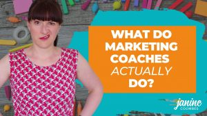 What do marketing coaches actually do?
