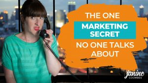 The one marketing secret nobody talks about